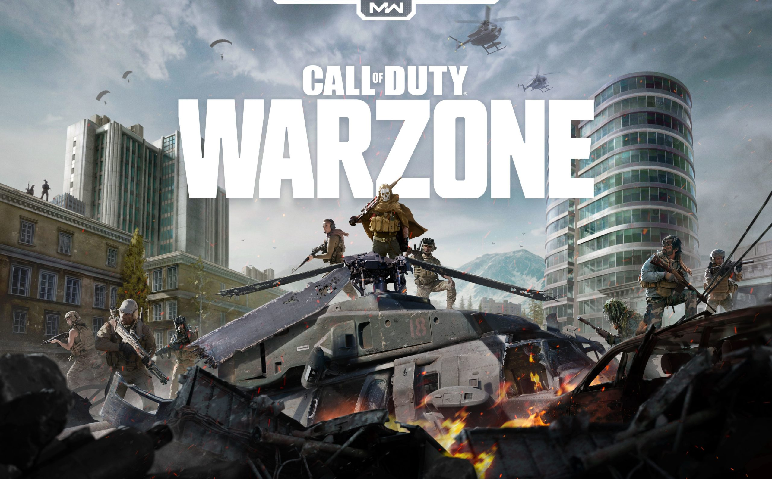 обои call of duty warzone